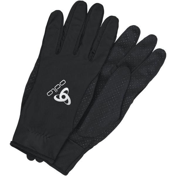 Černé rukavice na běžky Odlo - velikost M