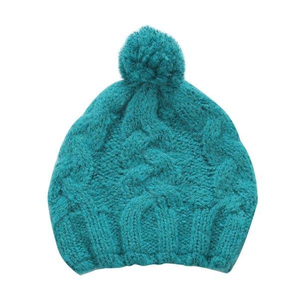 Zelená dámská zimní čepice Alpine Pro
