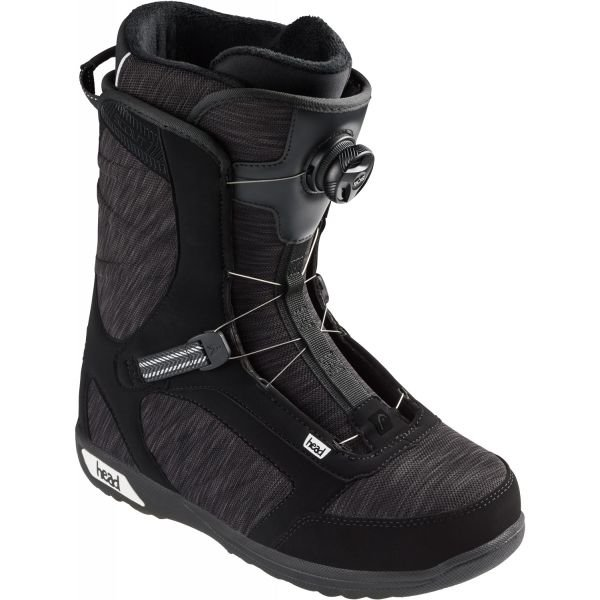 Černo-šedé pánské boty na snowboard Head
