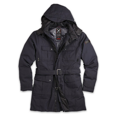 Kabát - doprodej Kabát XYLONTUM zimní TMAVĚ MODRÝ + Dárek ZDARMA