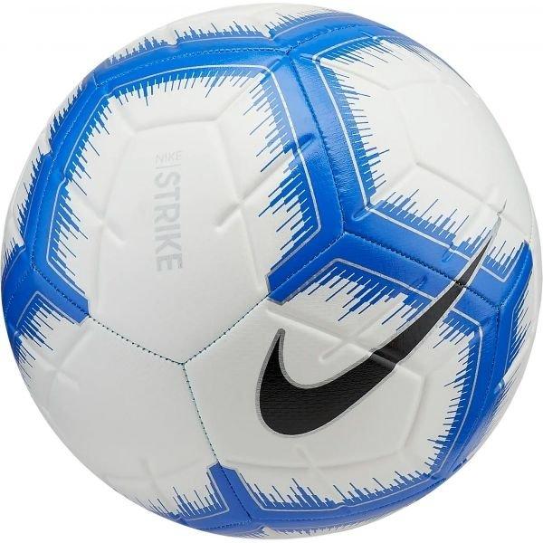 Bílo-modrý fotbalový míč Nike