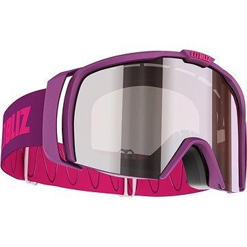 Růžové lyžařské brýle Bliz