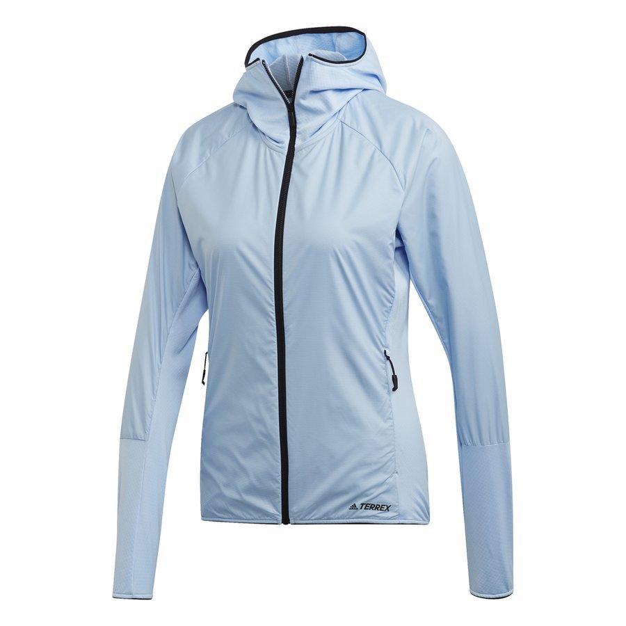 Modrá dámská bunda Adidas - velikost L
