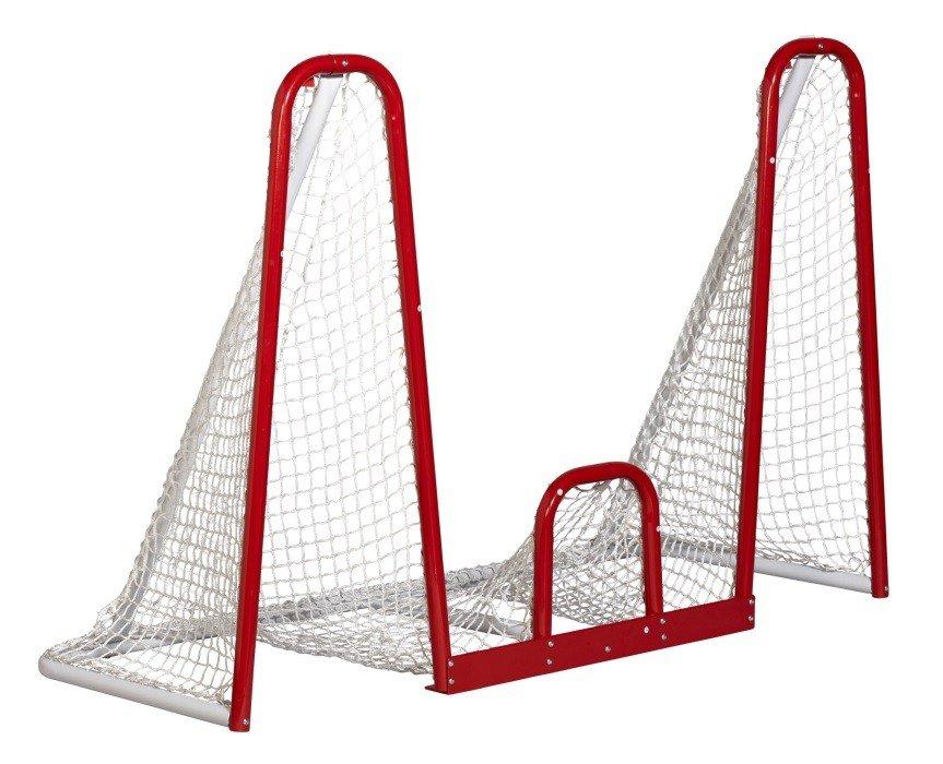 Hokejová branka Heavy Duty, Winnwell - šířka 183 cm, výška 122 cm a hloubka 76 cm