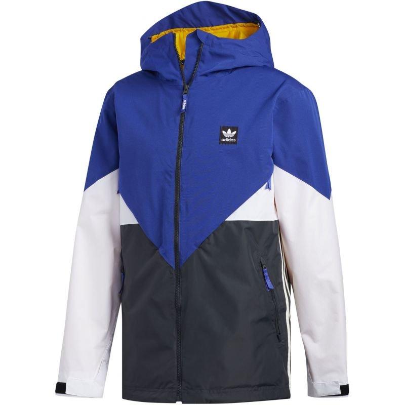 Modrá pánská snowboardová bunda Adidas