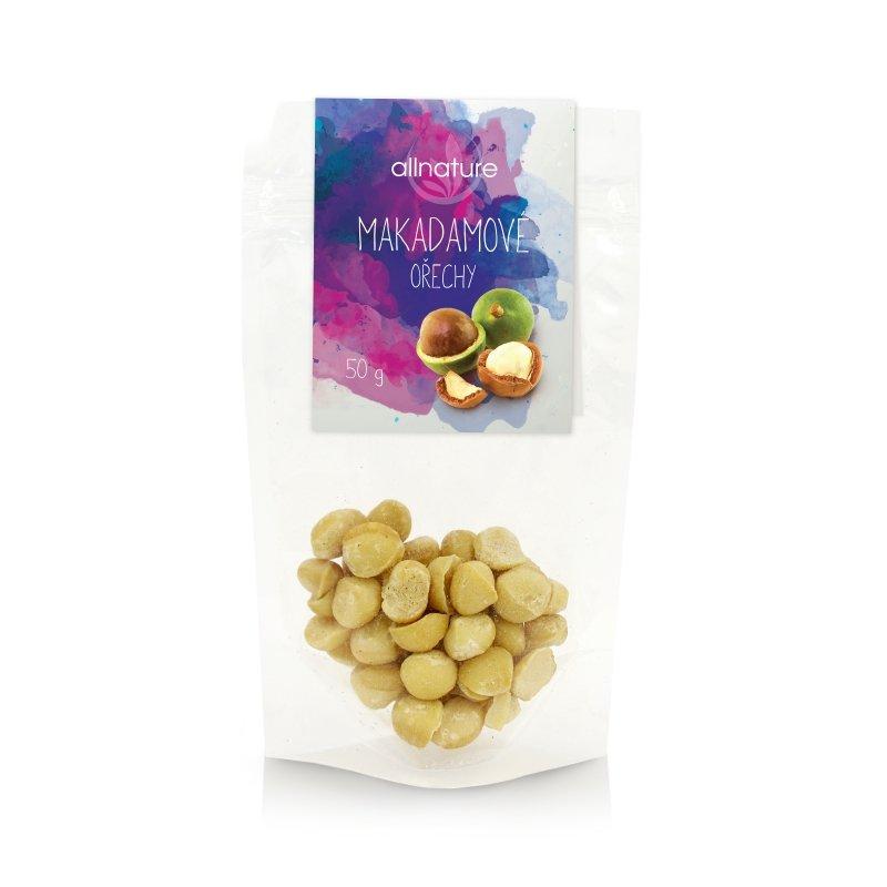 Makadamové ořechy Allnature - 50 g