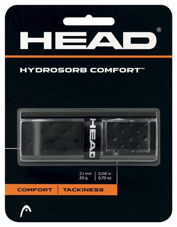 Černá tenisová omotávka HydroSorb Comfort, Head