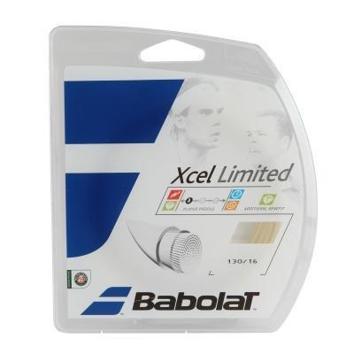 Bílý tenisový výplet Babolat - průměr 1,30 mm