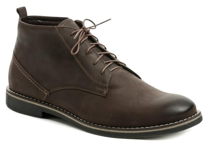 Hnědé pánské zimní boty Abil - velikost 44 EU