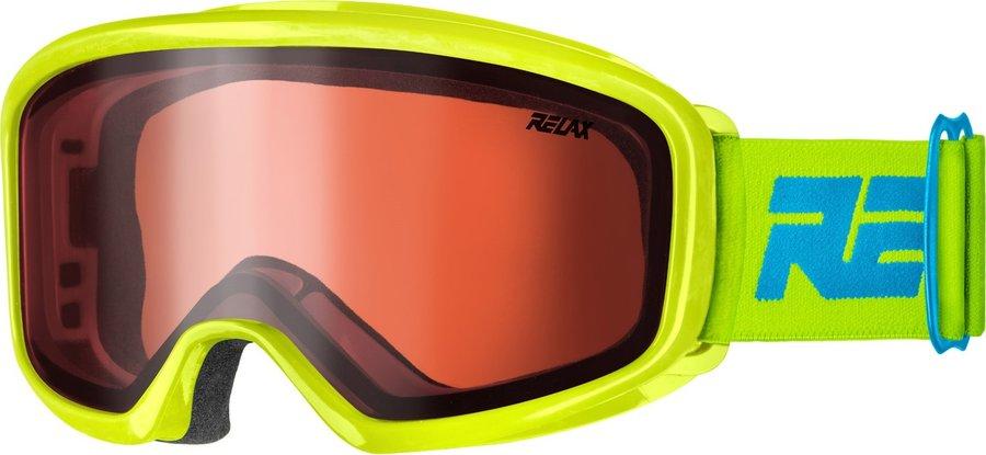 Žluté dětské lyžařské brýle Relax