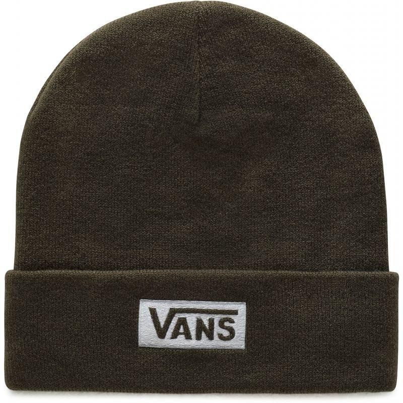 Zelená zimní čepice Vans - univerzální velikost