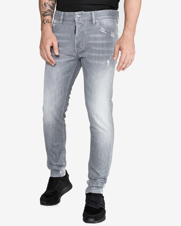 Šedé pánské džíny DSQUARED2
