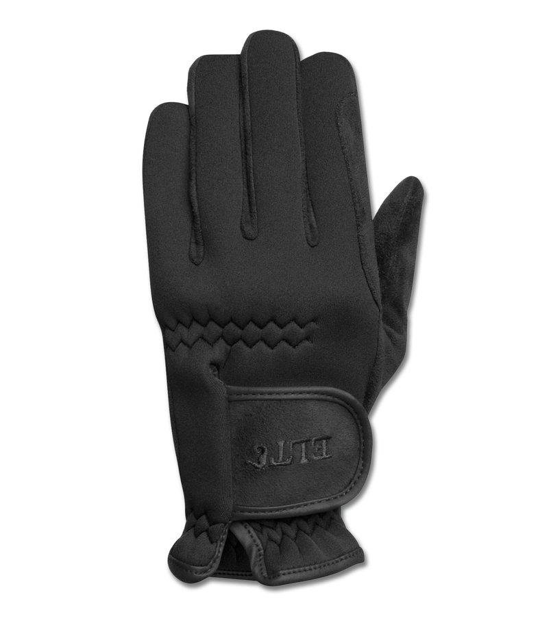 Černé jezdecké rukavice Nordkap, ELT - velikost M