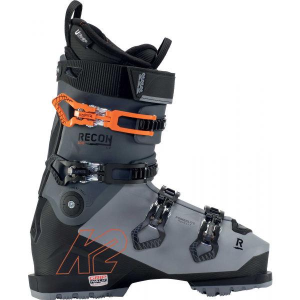 Černo-šedé pánské lyžařské boty K2