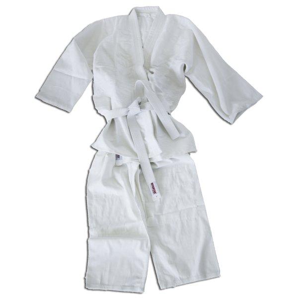 Bílé kimono na judo SPARTAN SPORT - velikost 160