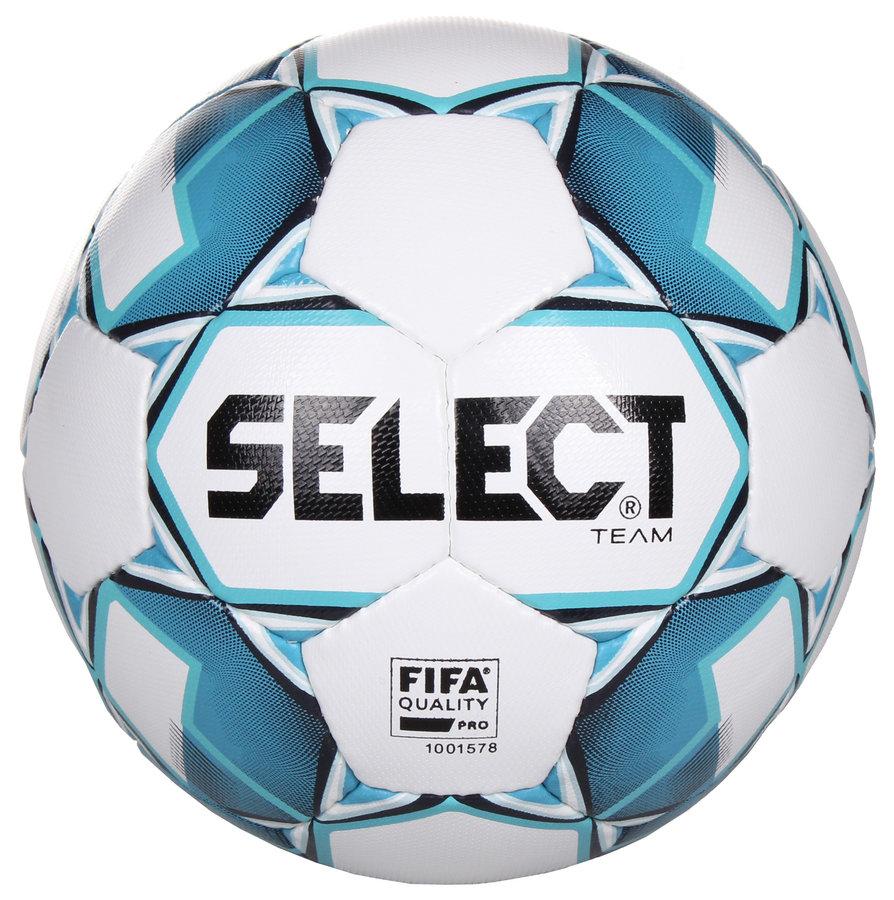 Fotbalový míč - Select FB Team FIFA bílá č. 5
