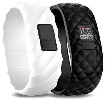 Černý nebo bílý fitness náramek VivoFit 3, Garmin