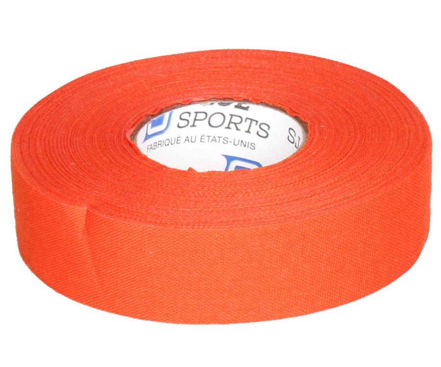 Hokejová omotávka - Blue Sport sportpáska 2,4cmx25m netrhací oranžová