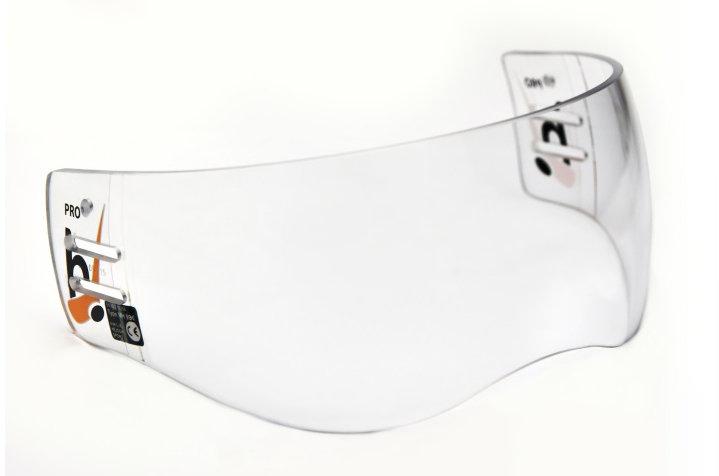 Plexi na hokejovou helmu - Plexi Hejduk MH 990 PRO LINE Barva: čirá