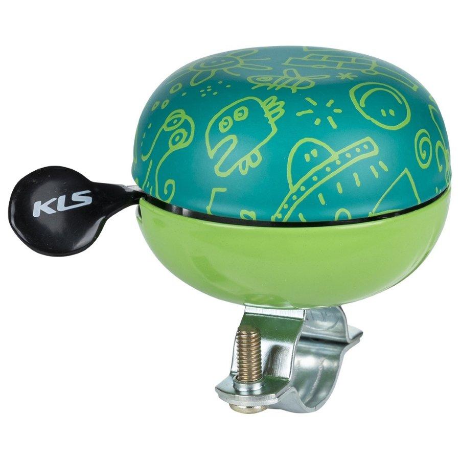 Zvonek na kolo - Kellys Bell 60 Doodles zelená