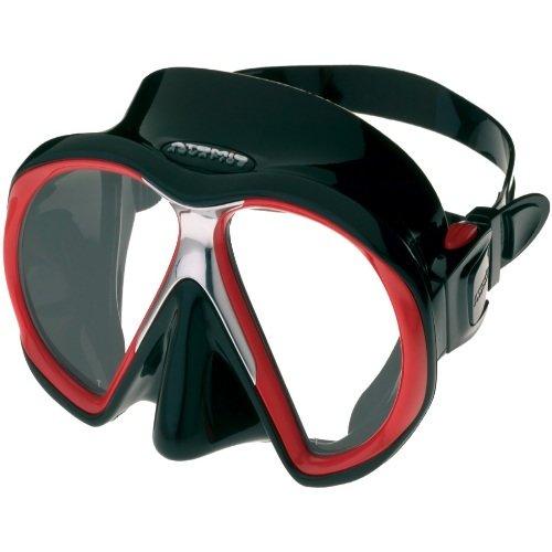 Černo-červená potápěčská maska Subframe, Atomic Aquatics