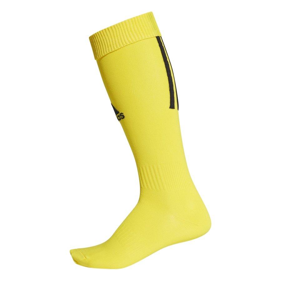 Žluté fotbalové štulpny Santos Sock 18, Adidas - velikost 40-42 EU