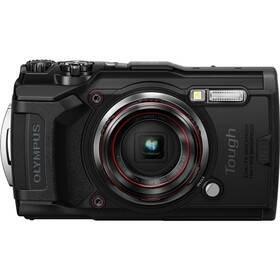 Černý outdoorový fotoaparát TG-6, Olympus
