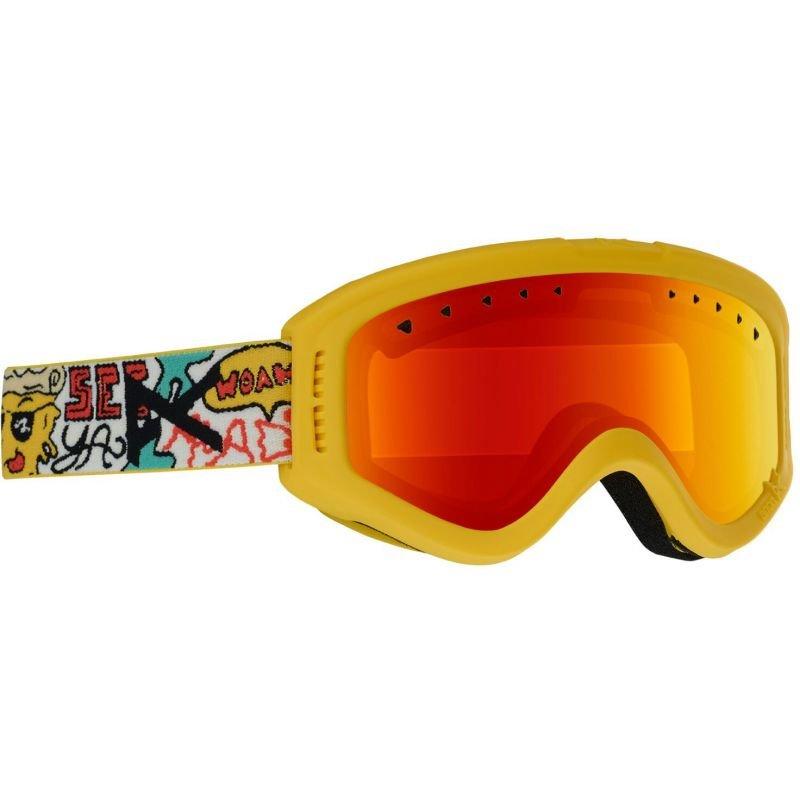 Žluté brýle na snowboard Anon