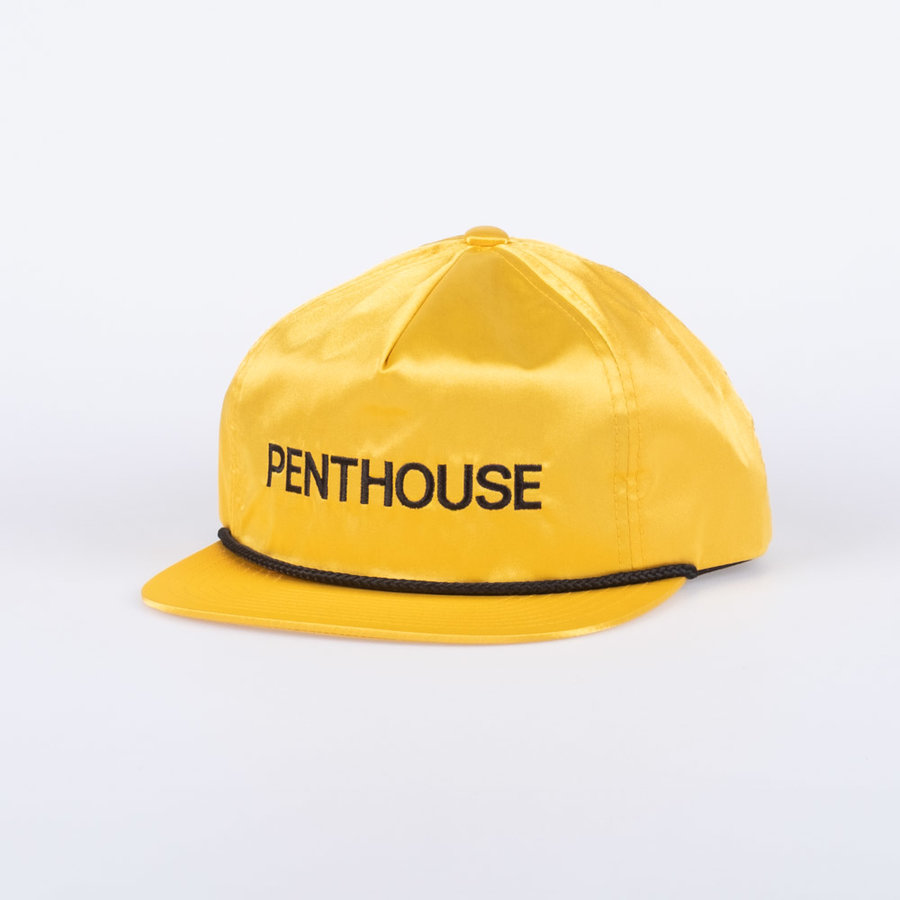 Žlutá kšiltovka Penthouse Satin, Huf - univerzální velikost