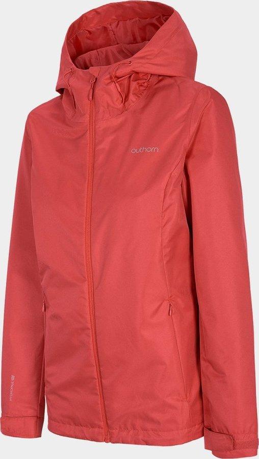 Červená dámská turistická bunda Outhorn - velikost M