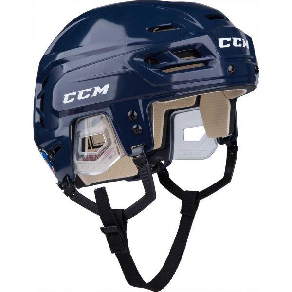 Modrá hokejová helma CCM - velikost XS