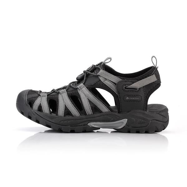 Šedé sandály Alpine Pro - velikost 46 EU