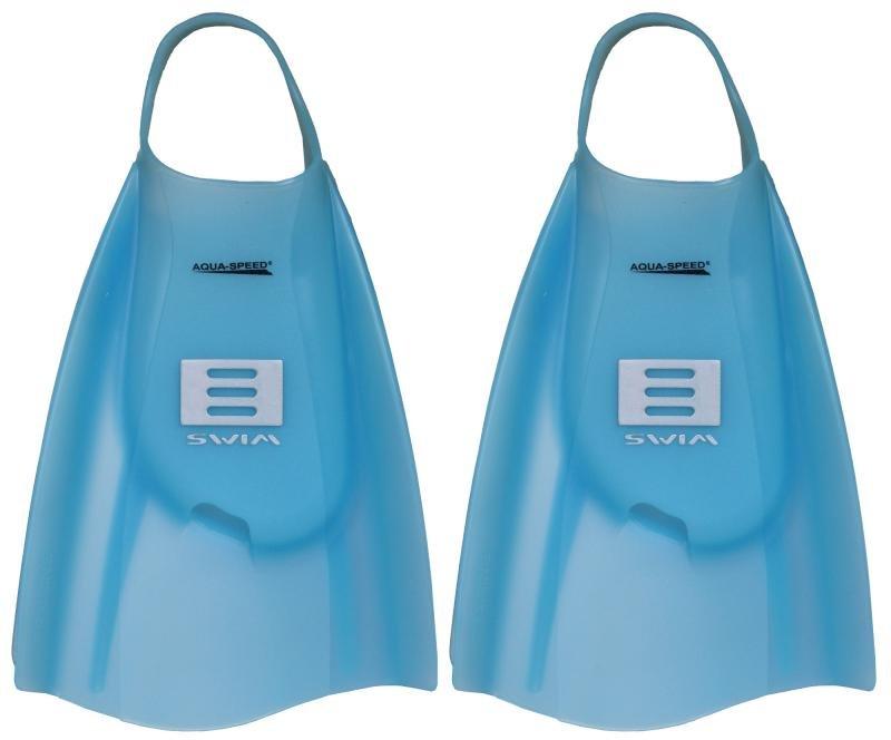 Modré plavecké krátké ploutve Tech2, Aqua-Speed