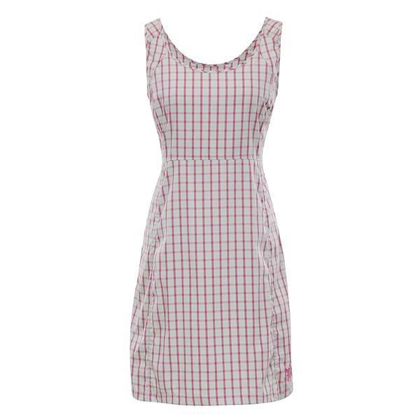 Bílé dámské šaty Alpine Pro