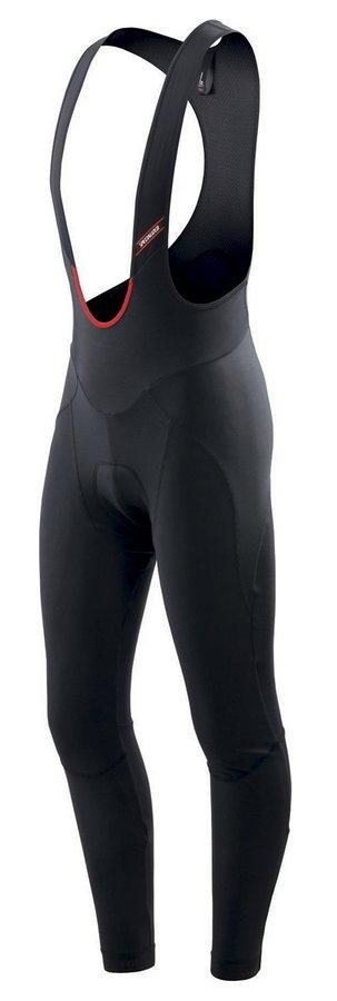 Dlouhé zimní pánské cyklistické kalhoty se šlemi s vložkou Specialized - velikost M