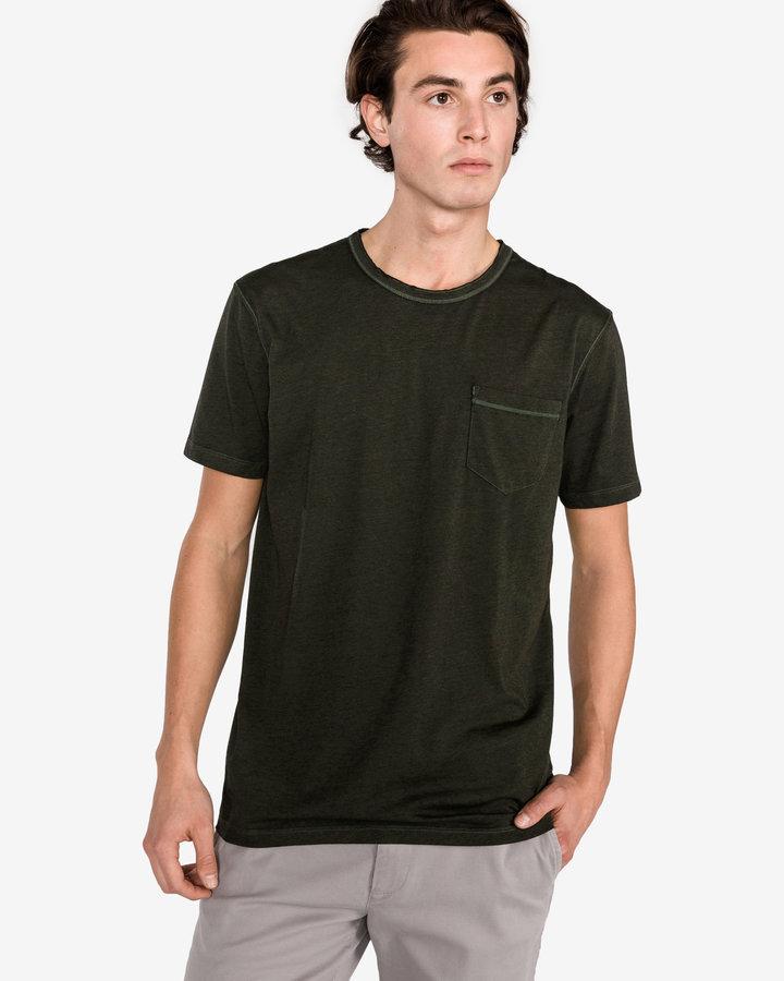 Zelené pánské tričko s krátkým rukávem Pepe Jeans