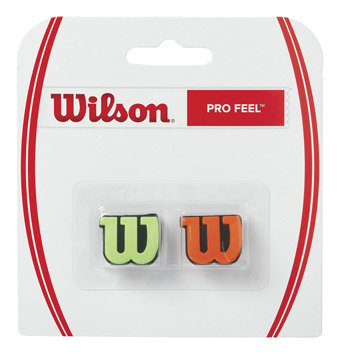 Vibrastop - Vibrastop Wilson Pro Feel Green/Orange 2 ks