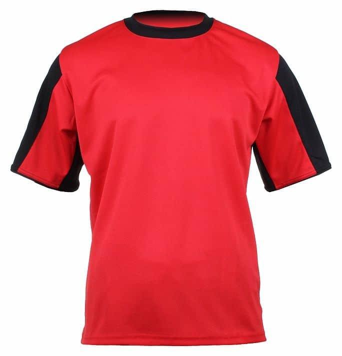 Červený dětský fotbalový dres Dynamo, Merco - velikost 140