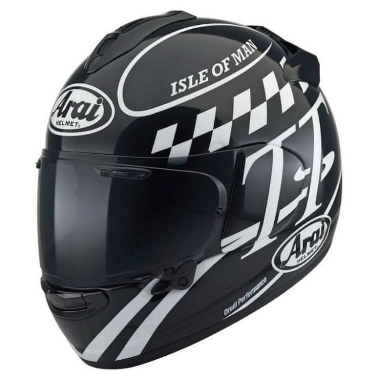 Helma na motorku Arai