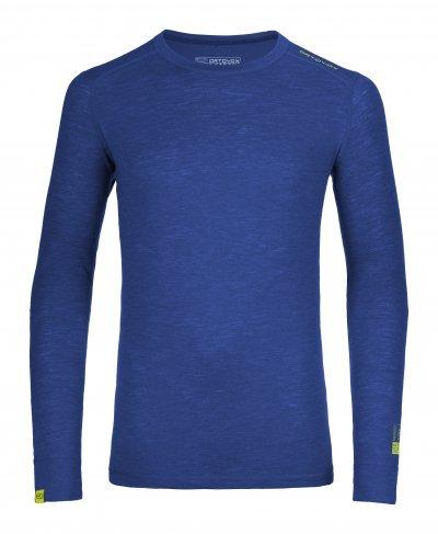 Modré pánské termo tričko s dlouhým rukávem Ortovox - velikost XL