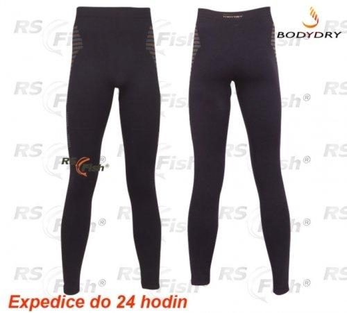 Černé pánské rybářské kalhoty Active Pro Bionic, Bodydry
