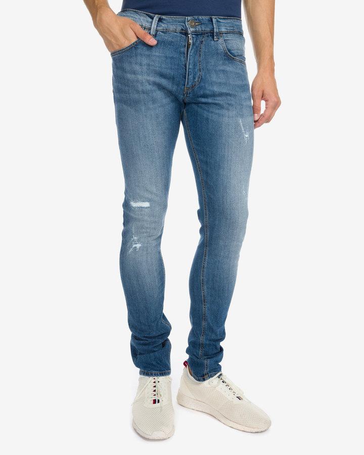 Modré pánské džíny Trussardi Jeans - velikost 35