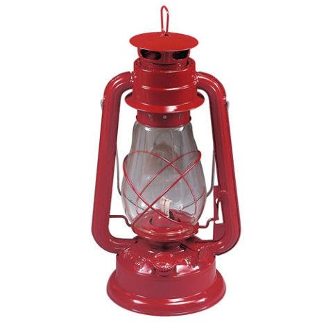 Červená petrolejová lampa ROTHCO