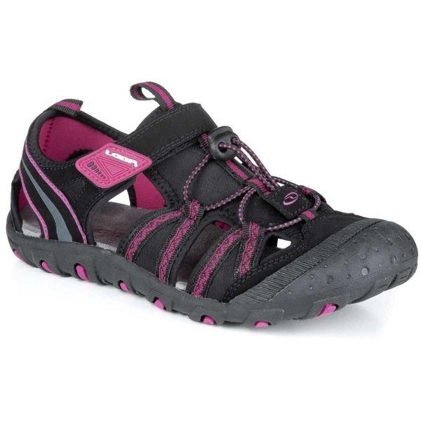 Růžové dívčí sandály Loap