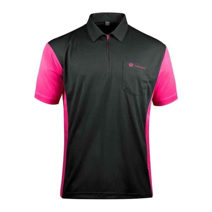 Černo-růžový šipkařský dres Target Darts
