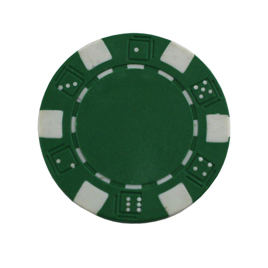Žetony na poker - Poker žeton MASTER - zelený