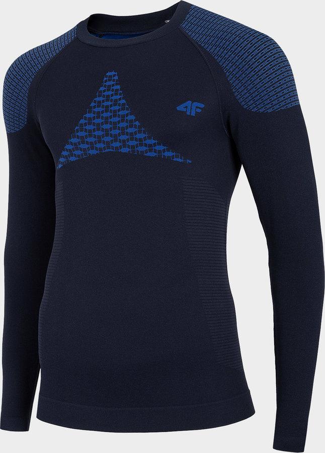 Modré pánské termo tričko 4F - velikost XXL