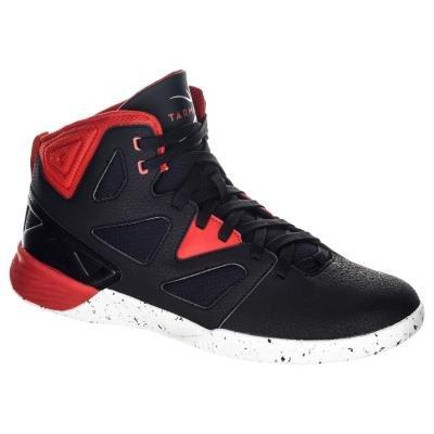 Černo-červené pánské basketbalové boty Shield 300, Tarmak