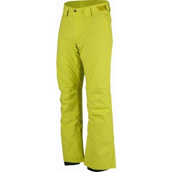 Žluté pánské lyžařské kalhoty Salomon