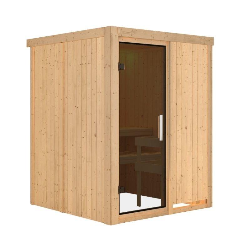 Vnitřní finská sauna pro 2 osoby Norin, Karibu